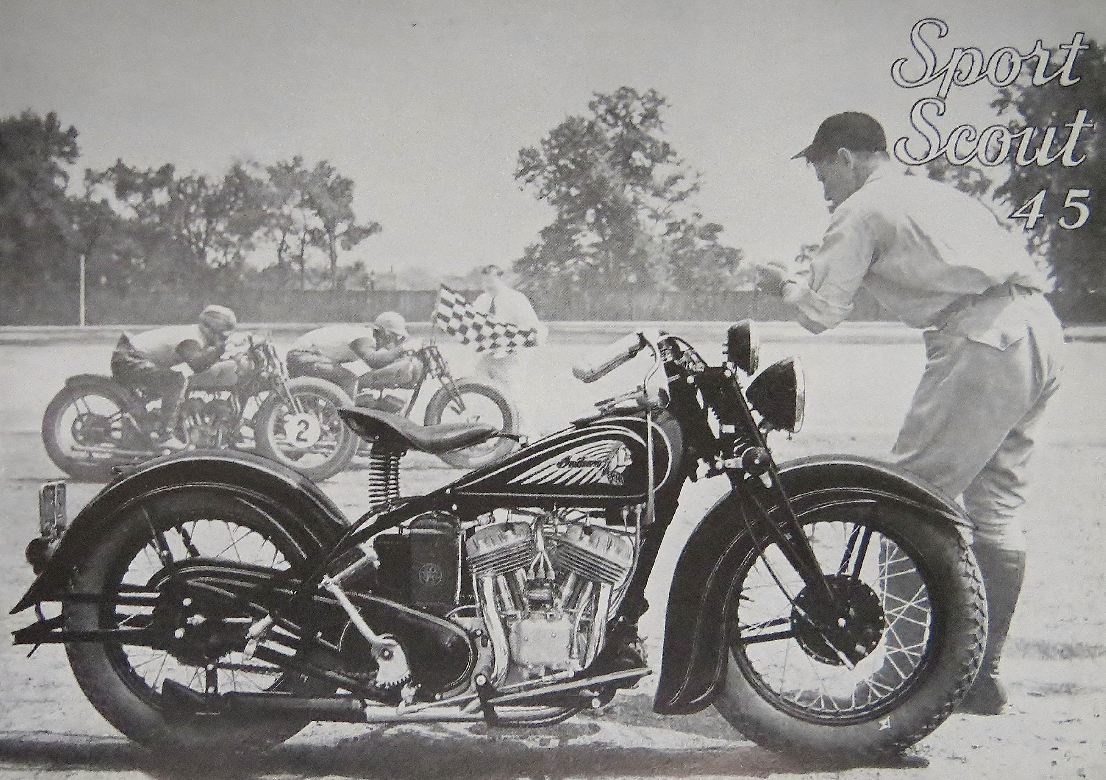 Indian Sport Scout 1938 Indian Motorcycle Motorcycle Illustration Indian Motorbike