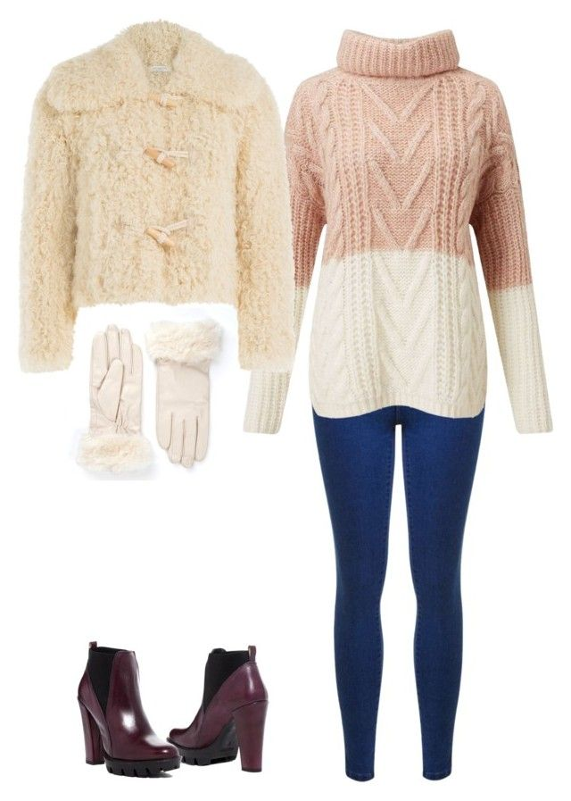 """""""Winter song in snow"""" by brooklynbeatz ❤ liked on Polyvore featuring Miss Selfridge, Philosophy di Lorenzo Serafini and Charles David"""