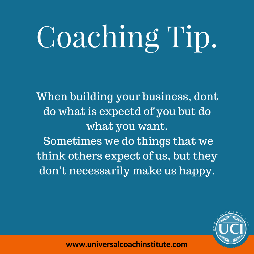 Become a coach today, learn some more tips, start your own ...