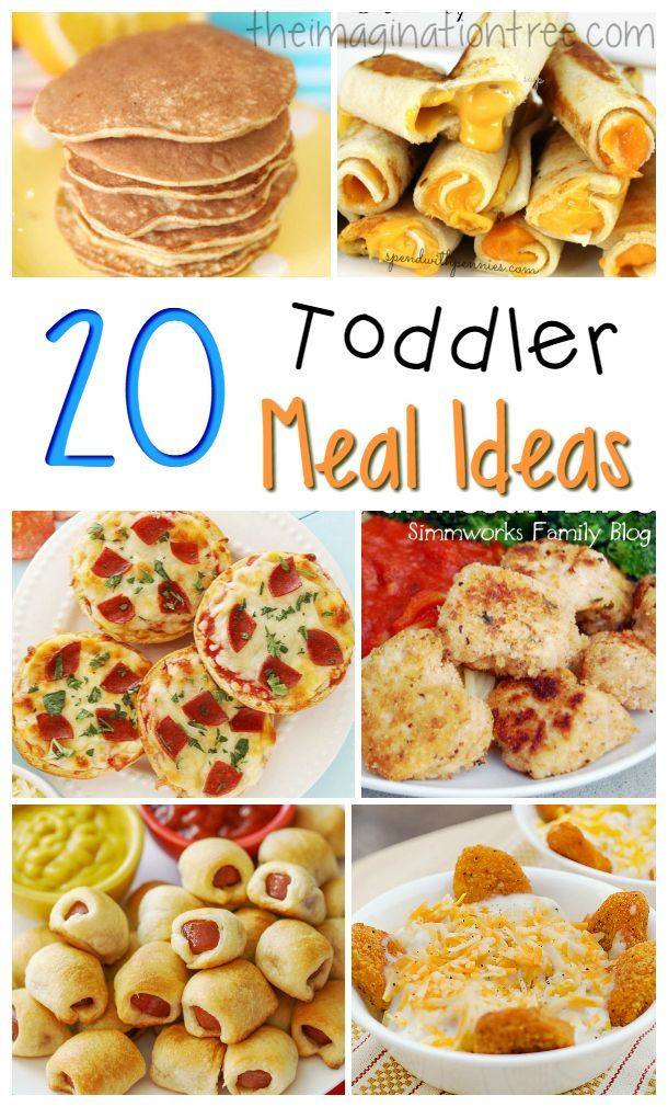 20 Great Toddler Meal Ideas | <3FOOD | Pinterest | Recetas de cocina ...
