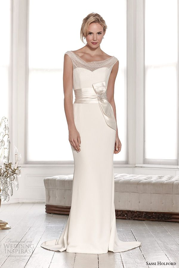 Si Holford Wedding Dress 2017 Bridal Signature Collection Spot Top With Belt Sheath Style Charlotte