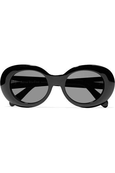 81f7741b3b ACNE STUDIOS Mustang Oval-Frame Acetate Sunglasses.  acnestudios  sunglasses