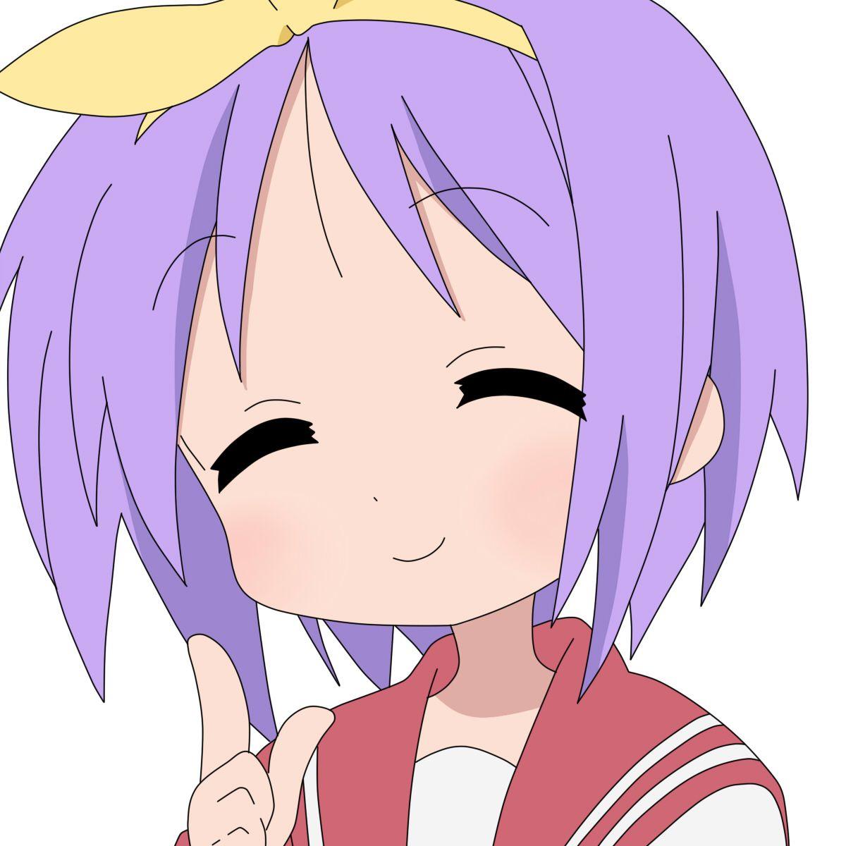 Lucky Star Hiragana: Lucky Star, Stars, Konata Izumi
