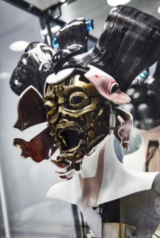 Geisha Mask Ghost In The Shell Ghost In The Shell Ghost Futuristic Art