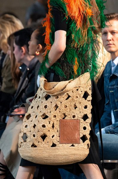 Loewe at Paris Fashion Week Spring 2019 #bag