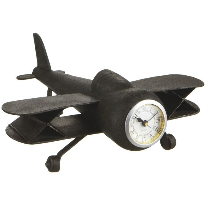 Airplane Desk Clock