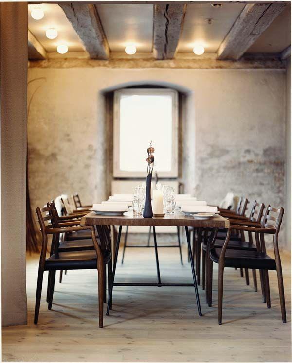 Dining Room Chairs Table Via Noma Restaurant Denmark Furniture Scandinavian Dining Room Noma Restaurant Dining Room Design