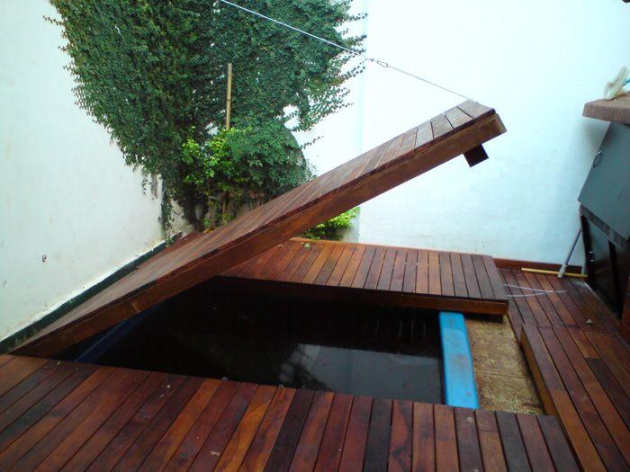 Cuando hay poco espacio cumple doble funci n piscinas for Piscinas en poco espacio
