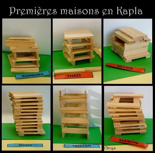 Maison De Kapla le journal de chrys: la maison en kapla | projet maisons | pinterest