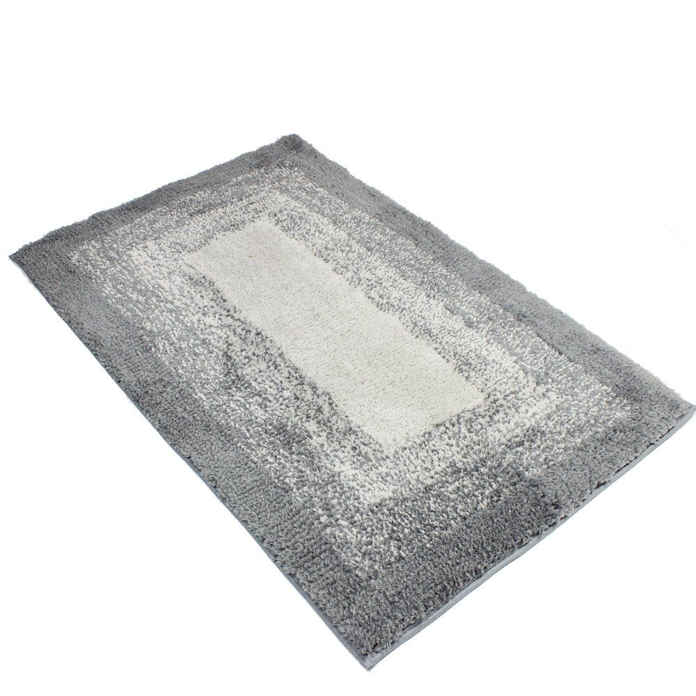 Kepswet Modern Simple Small Livingroom Carpet Rug Gray Rectangle Nonslip Bath Mats Shower Area Rugs Cozy Home Foot Pads D Rugs On Carpet Area Rug Pad Area Rugs