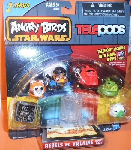 Angry Birds Star Wars Telepods Rebels Vs Villains 6 Pack Jabba
