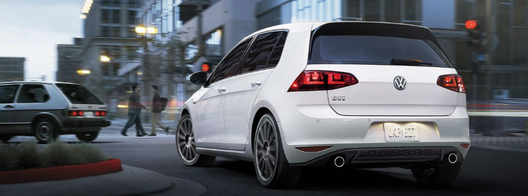Differences Between 2016 and 2017 Volkswagen Golf GTI