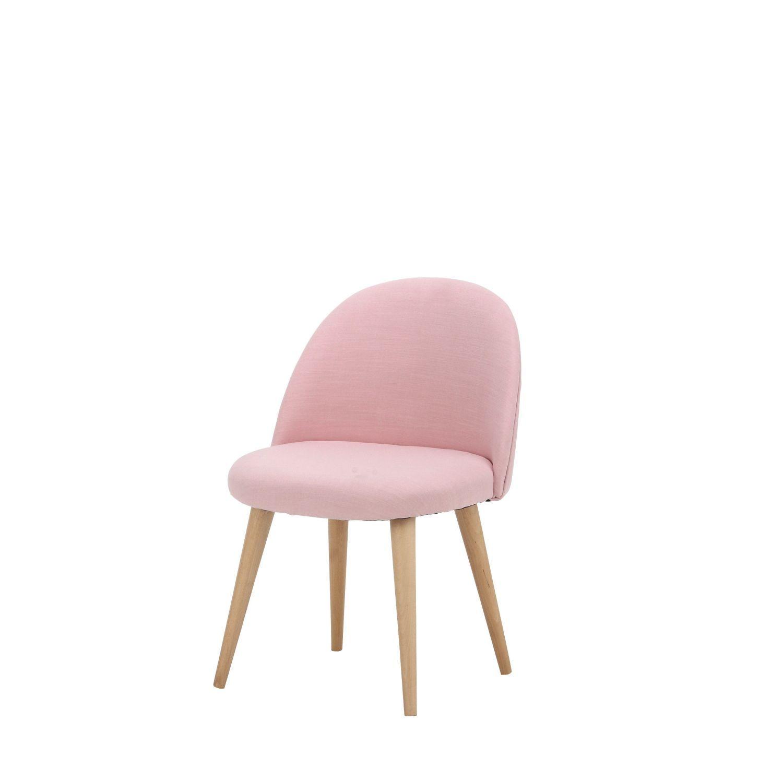Pink Vintage Children S Chair With Solid Birch Maisons Du Monde Chaise Enfant Fauteuil Retro Chaise Vintage