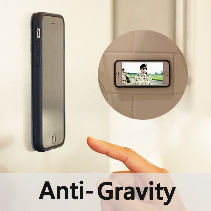 Anti Gravity Case For Iphone 6 Magical Nano Absorbed Suction Back Cover For Iphone 6 6s Plus Magic Stick Wall Phon Anti Gravity Case Samsung Phone Iphone Cases