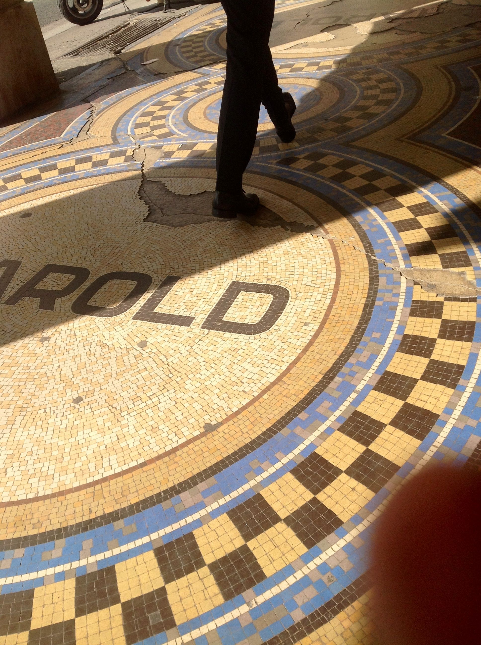mosaic floor in paris outside cafe | paris | pinterest | mosaic