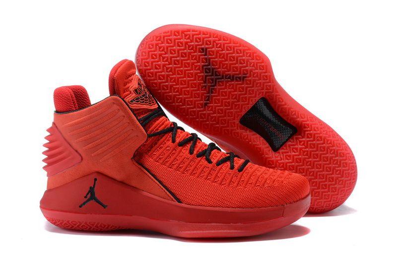 26481eaaea 2017 Nike Air Jordan XXX2 Rosso Corsa Gym Red Black Sneakers | Cheap ...