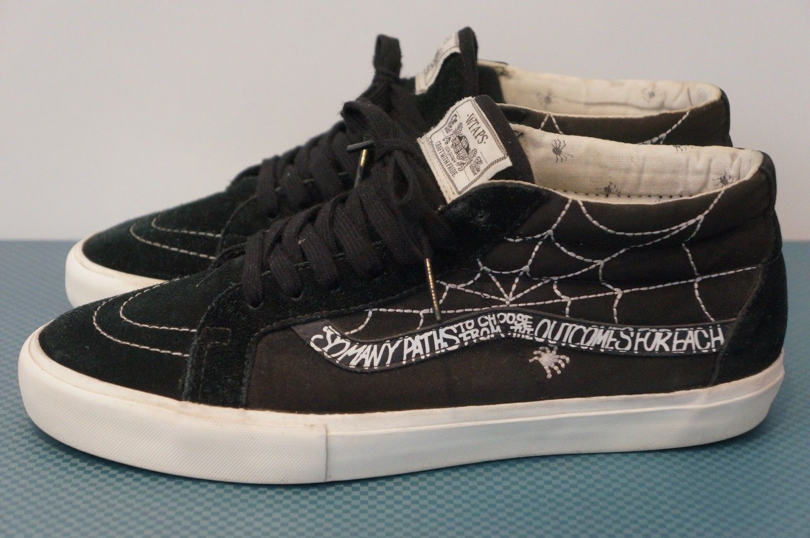 0806e70808 2010 Vans Sk8-Mid x Wtaps Spider Syndicate 9.5 US Vault Sk8-Hi Era Authentic