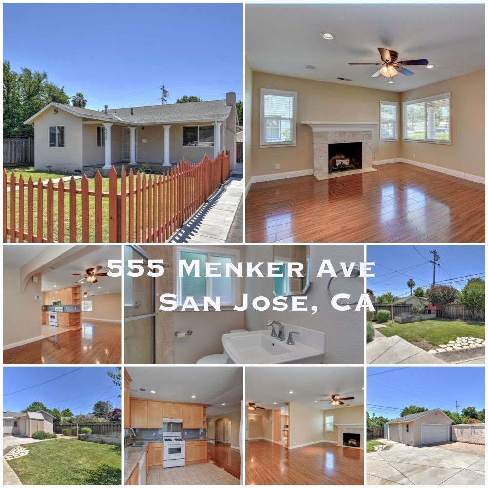 🙀🏡💃 OOPS, DID YOU MISS The Block Party Preview on the 4th? No worries. Catch SAT & SUN 1-4 p.m. Offered at $1,0000,000, fully remodeled, large lot, front yard, extra long driveway, lots of storage, and room for yoga or artist studio. Great location near Santana Row. Link in bio. . Mirella Kaell - Relocation Gal - M.S. REALTOR®️ GREEN DRE #02057622 @ KW Bay Area Eststes in Los Gatos, CA. . #relocationgal #relocation #firsttimehomebuyers #getprequalified #sanjoserealestate #santanarow #openhous