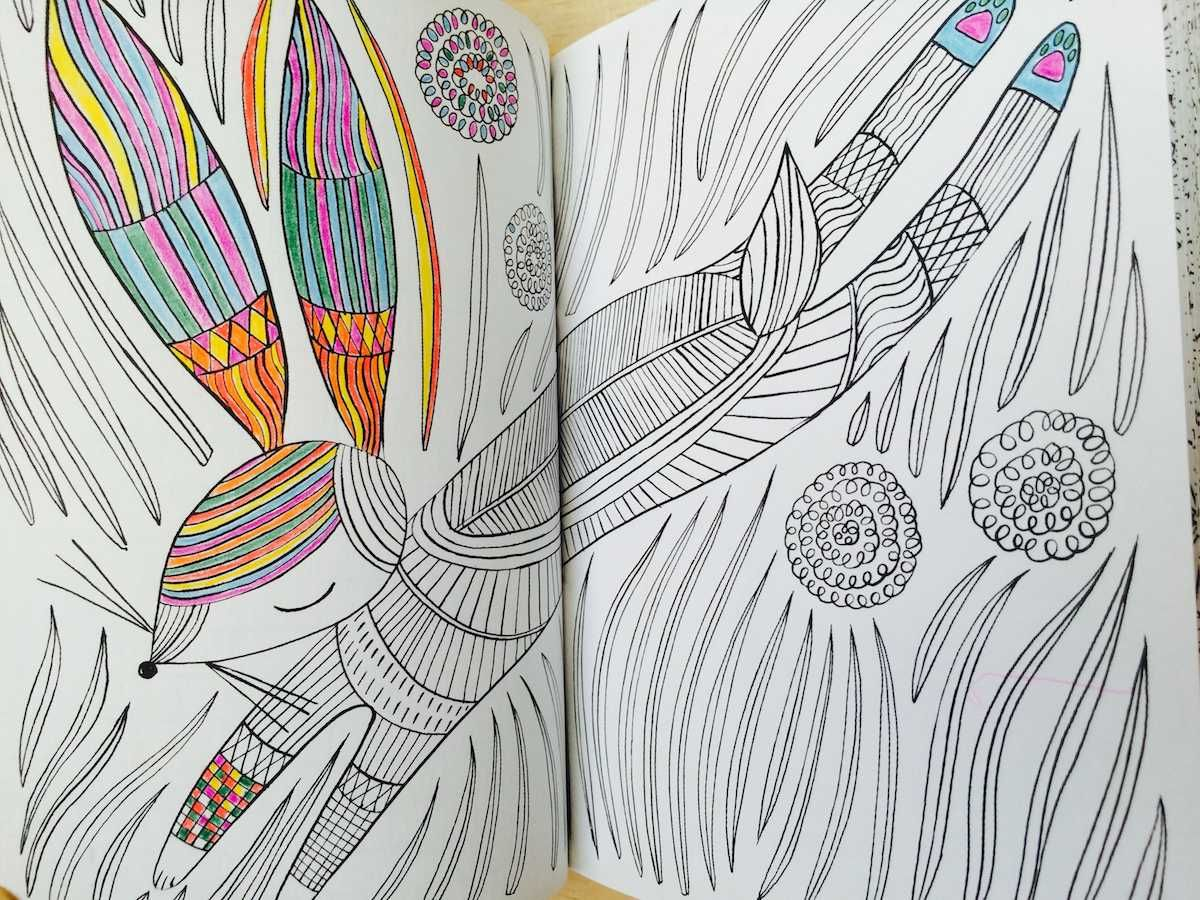 The Mindfulness Coloring Book Anti Stress Art Therapy For Busy People Volume 2 The Mindfulness Coloring Book Anti Stress Art Coloring Books Book Design Color