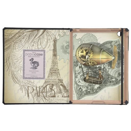Steampunk Dirigible Air Tour DODO iPad Case