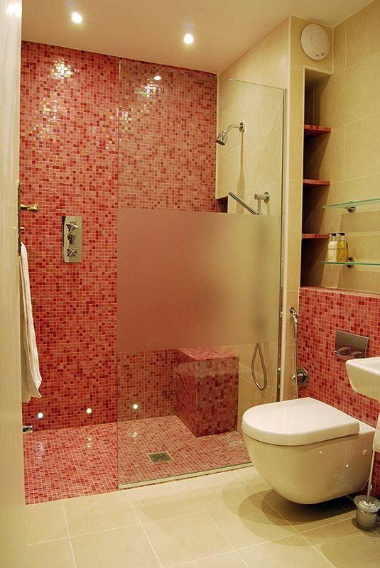 Bathroom designs nice picture designs new designer shower for Bathroom designs square room