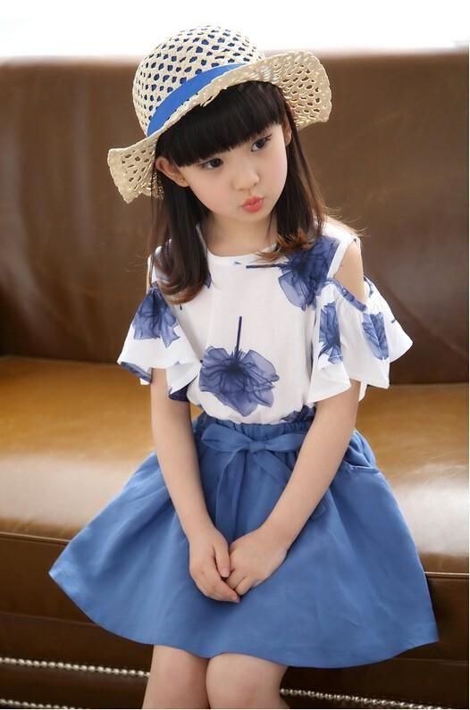 Teenage Girls Fashion Kids Girl Jeans Dress With Belt 2015 New Fashion Summer Children Teenage Girls Brief Cute Denim Clothes #teenagegirlclothes