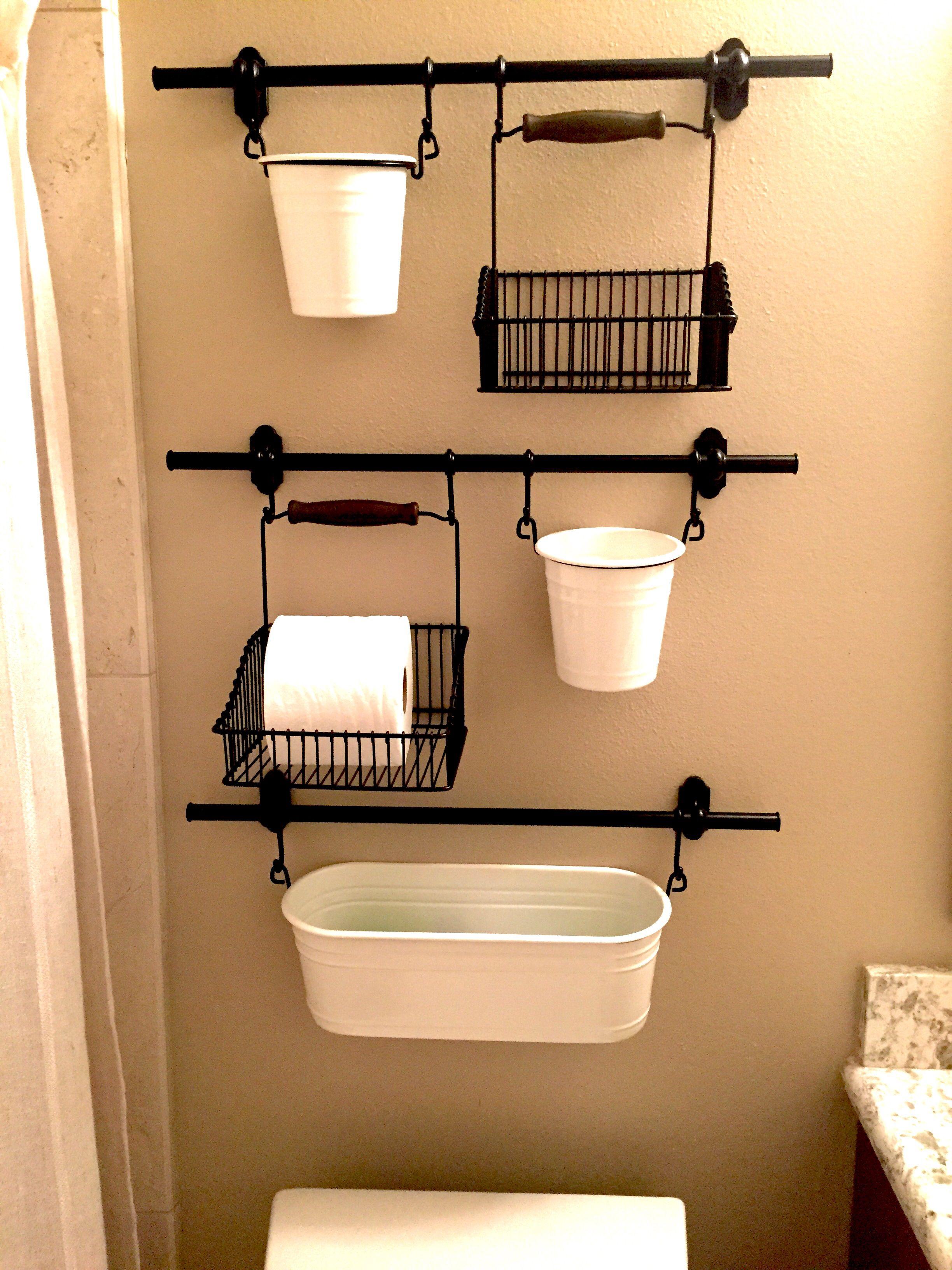 IKEA Fintorp | Diy bathroom storage