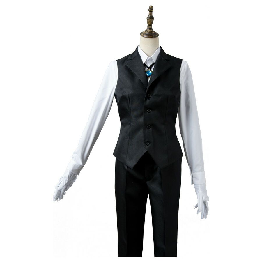 The Ancient Magus/'Bride Elias Ainsworth Cosplay Outfit Uniform Costume Suit Mask