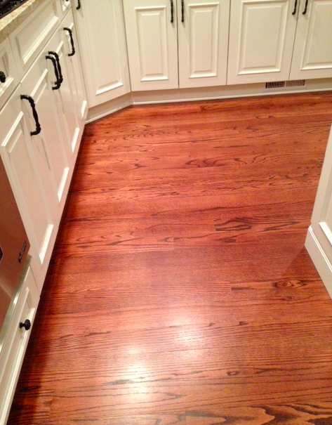 Min Wax Red Mahogany Stain On White And Red Oak Floors