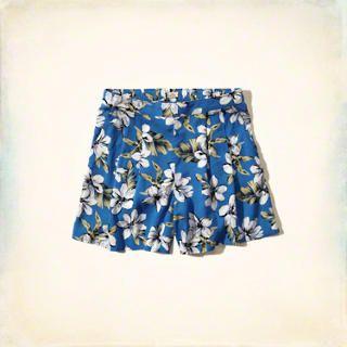 Los Trancos Culotte Shorts