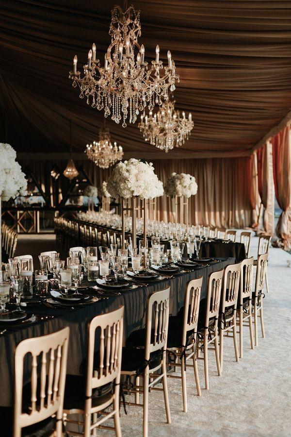 GatsbyInspired Wedding at the Biltmore Estate