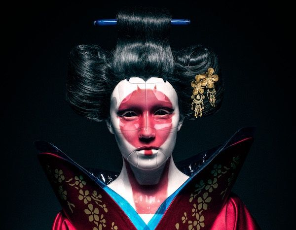 Ghost In The Shell Robot Geisha Cosplay Ghost In The Shell Japanese Folklore 3d Characters