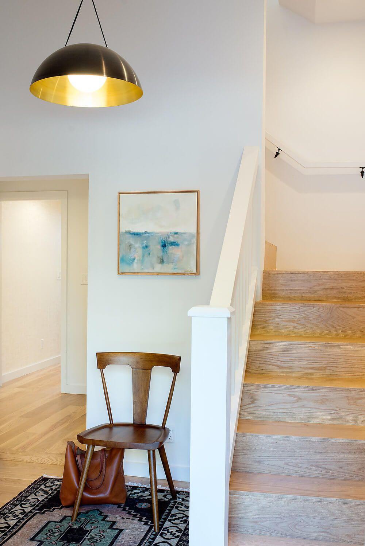 Glen Park Home by Regan Baker Design Floor design, White