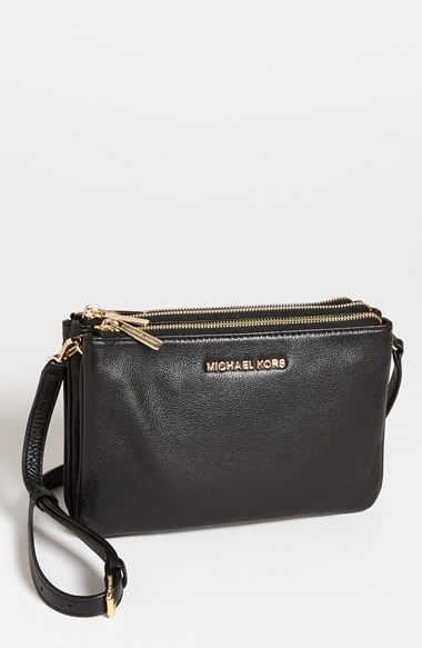 8e34343c3757 Free shipping and returns on MICHAEL Michael Kors 'Bedford' Crossbody Bag  at Nordstrom.com. A trio of zippered compartments compose a well-organized  ...
