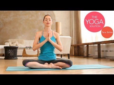 Tara Stiles 9-Minute Flexibility Yoga Routine | LIVESTRONG.COM                                                                                                                                                                                 More