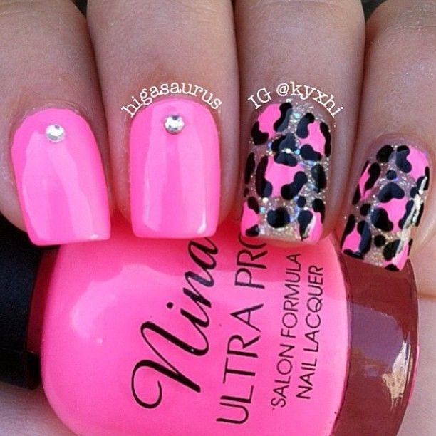 hot pink and cheetahlicious