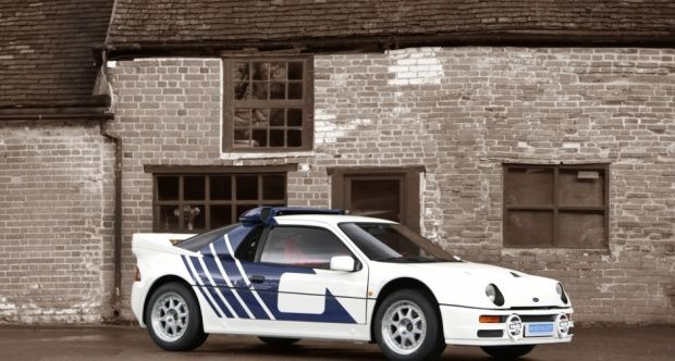 1986 Ford Rs 200 Classic Driver Market Ford Rs Ford Rally Car