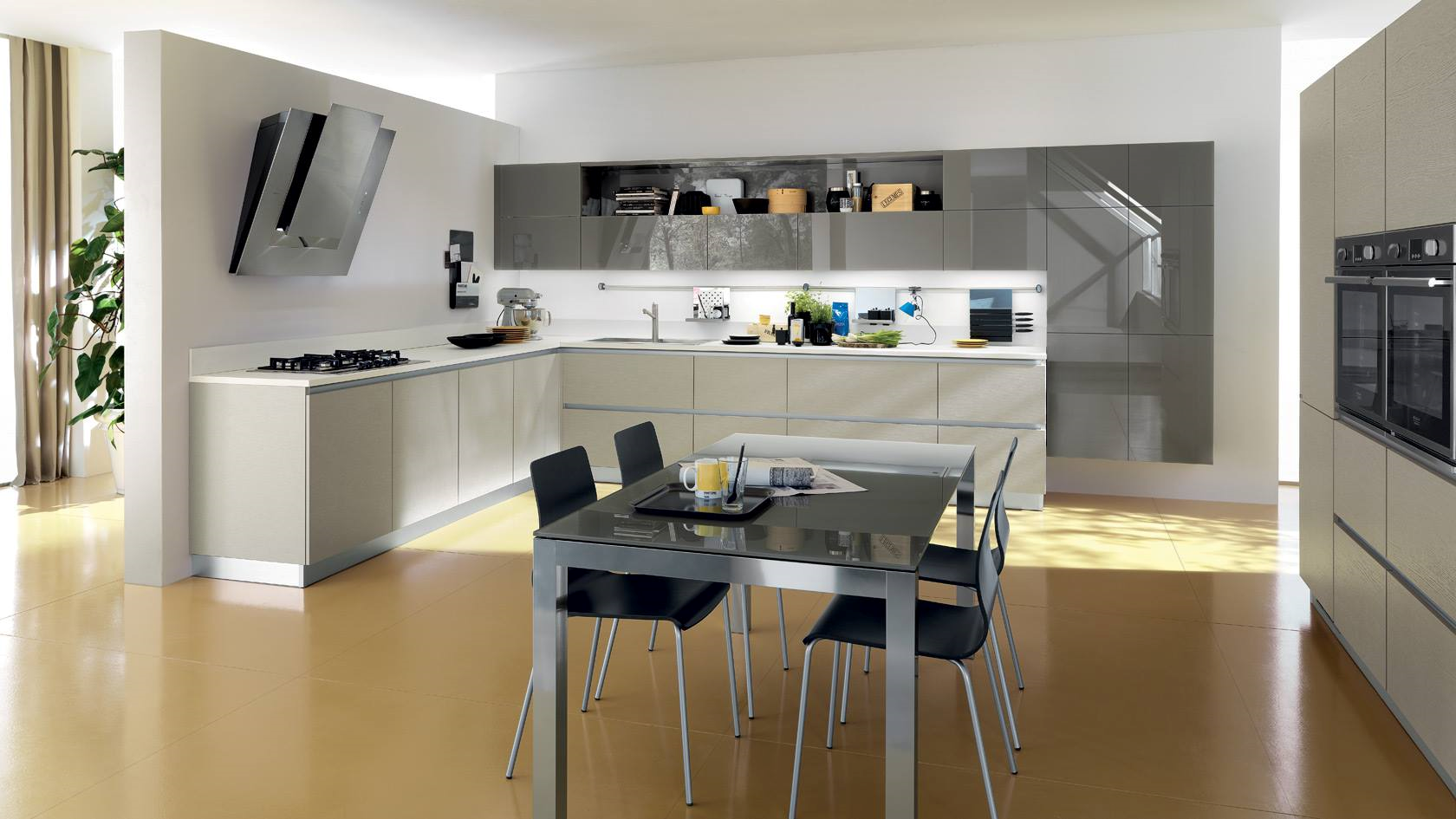 Ico by elica silver elica pinterest kitchens