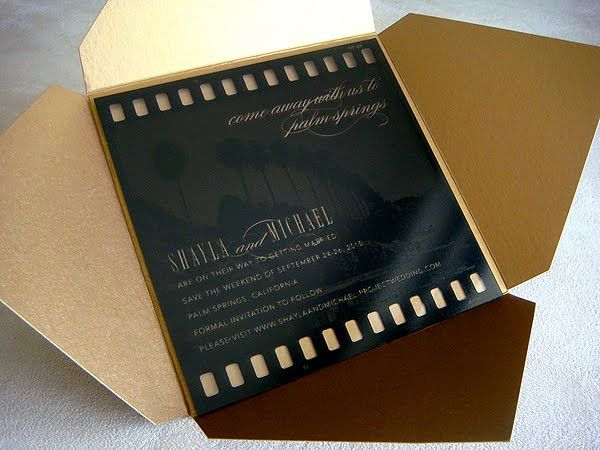 old hollywood invite - the \