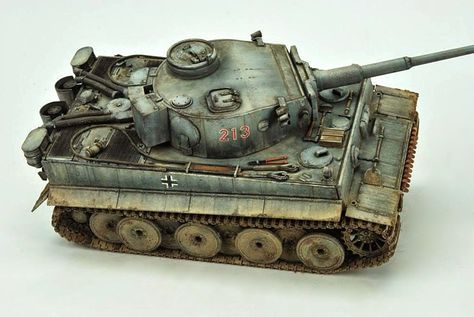 Image result for painting tamiya 1/25 scale tiger i