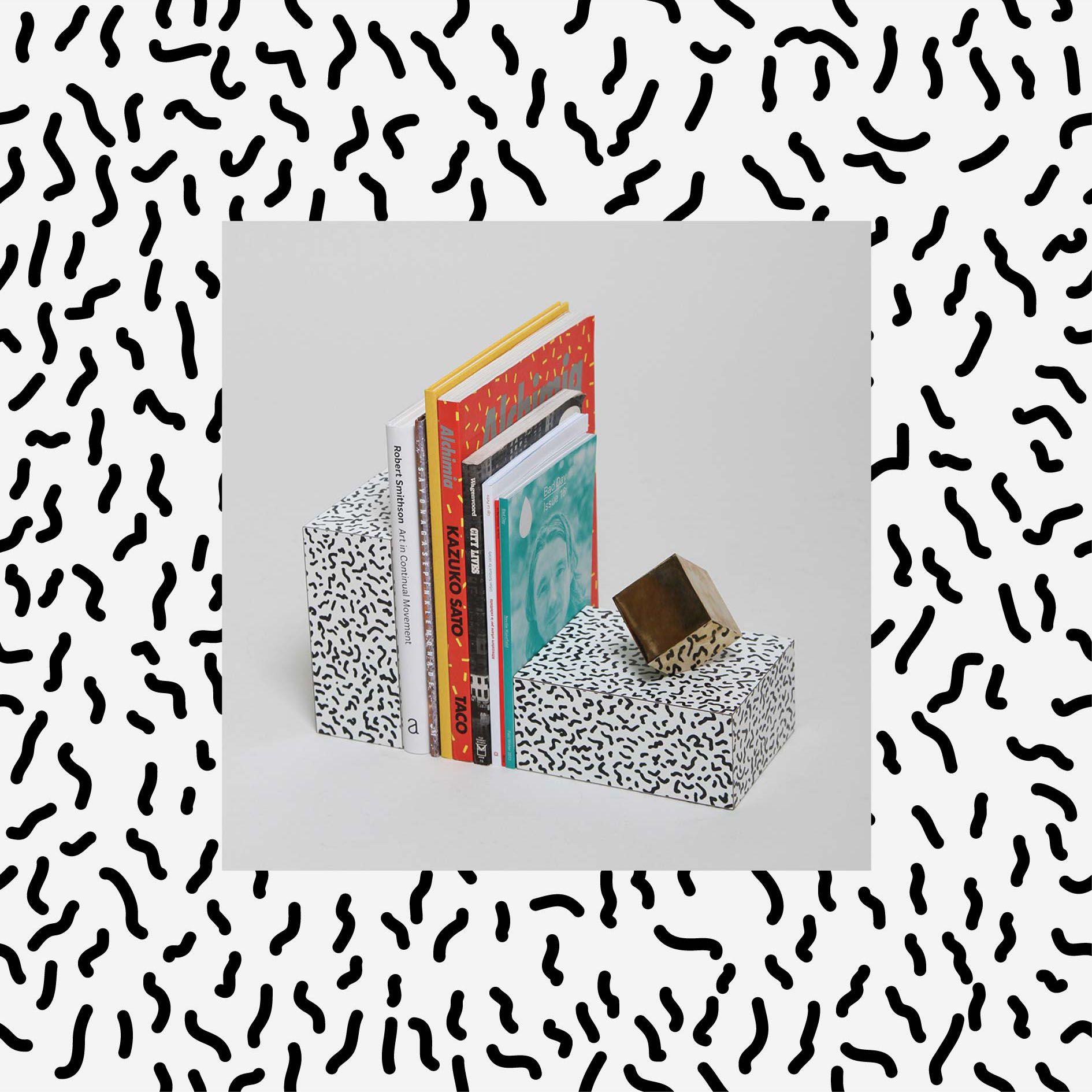 Book color illustrator - Bacteria Book Ends Design Vector Graphic Illustrator Pattern Fabric