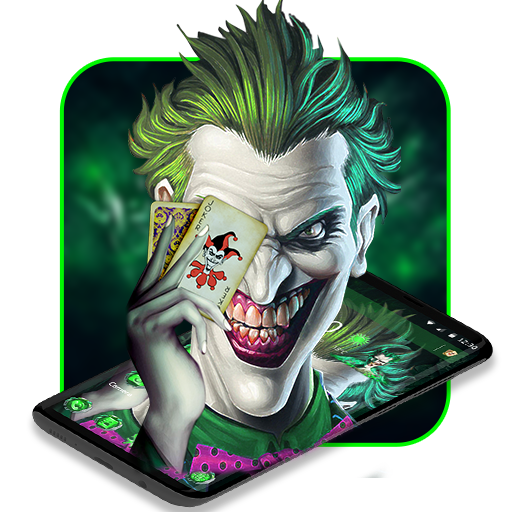 Gambar Joker Kartun 3d Psycho Joker Cool Theme Android Download By Hot Launcher Download In 2020 Joker Hd Wallpaper Joker Wallpapers Background Images Wallpapers