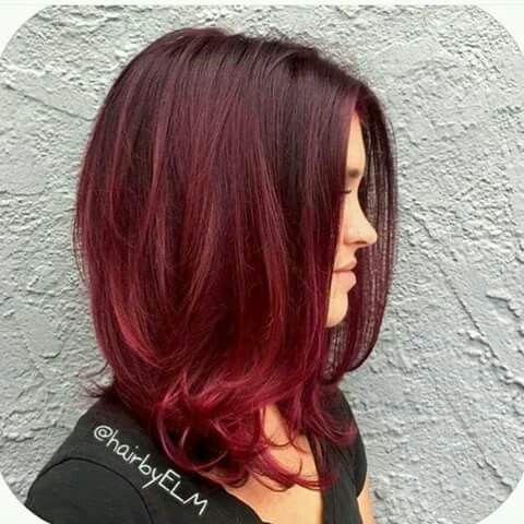 Degradado de color en pelo corto