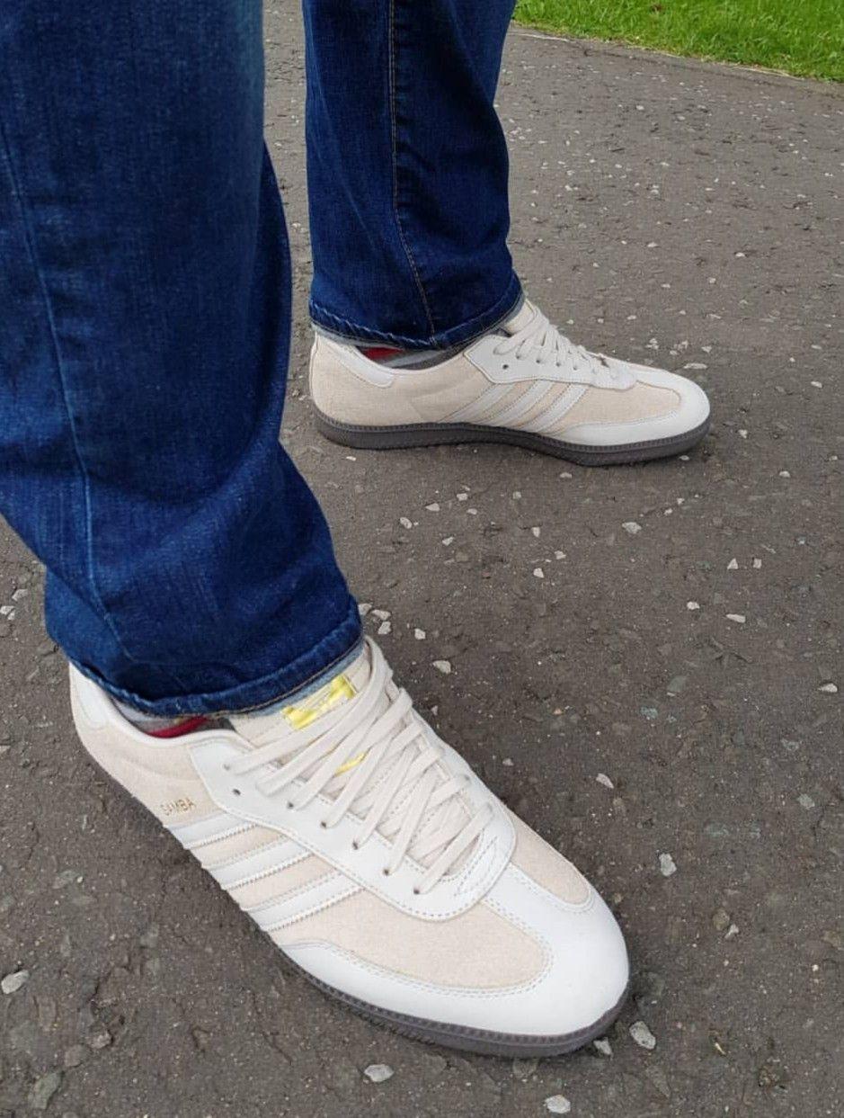 Samba on feet on the street Adidas Og 3e0d566cf