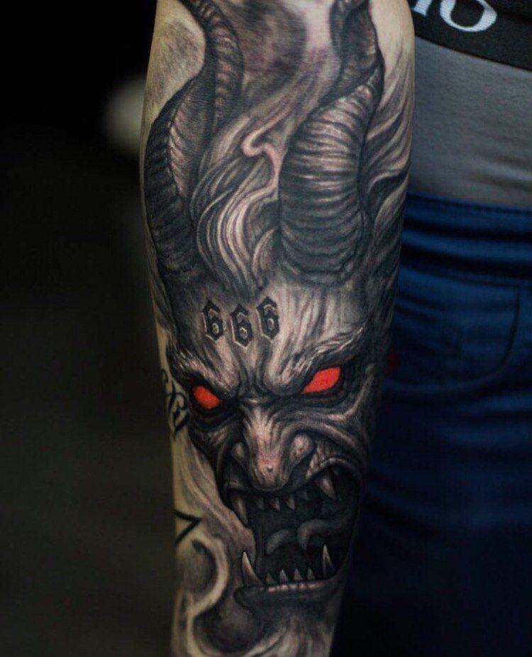183 u5kgu8ajshy demon tattoo tattoos - Wicked 3d tattoos ...