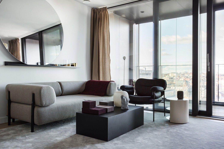Waarom een grijze bank in elk interieur werkt home pinterest