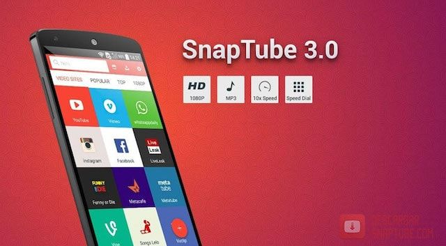 Download SnapTube APK Latest Version 2020 (With images