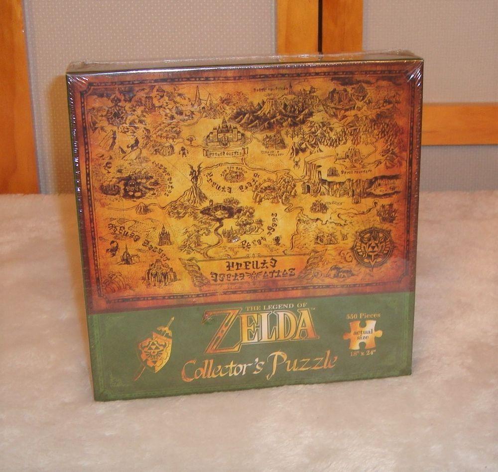 New Sealed Legend of Zelda Nintendo Collector's Puzzle 550