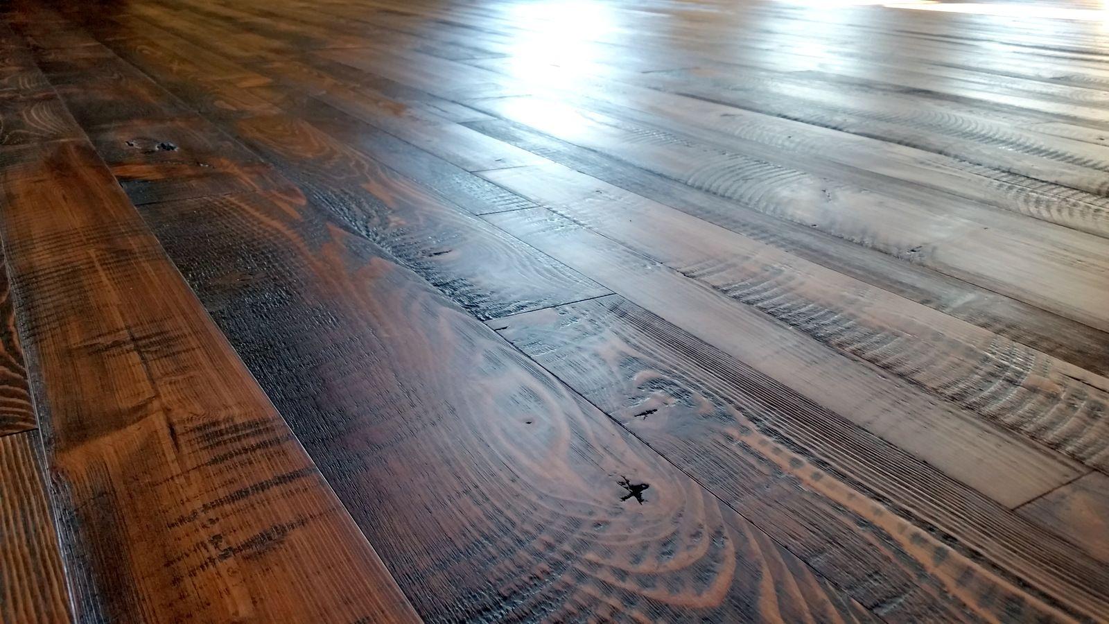 Circular Sawn Douglas Fir Wood Floors