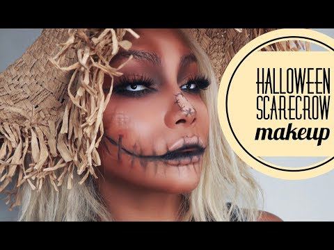 25 Scarecrow Makeup Ideas for Halloween #scarecrowmakeup